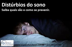 Espaço Funcional Distúrbios do Sono