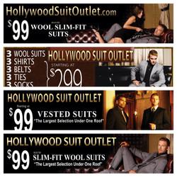 Hollywood Suit Outlet Billboards