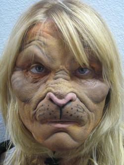 Full Face Prosthetic