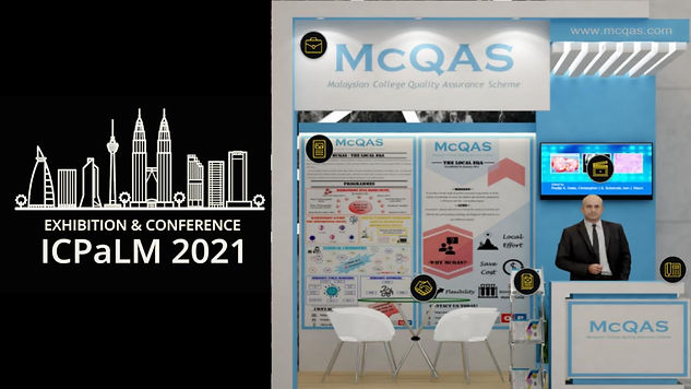 We exhibited a business booth in ICPaLM