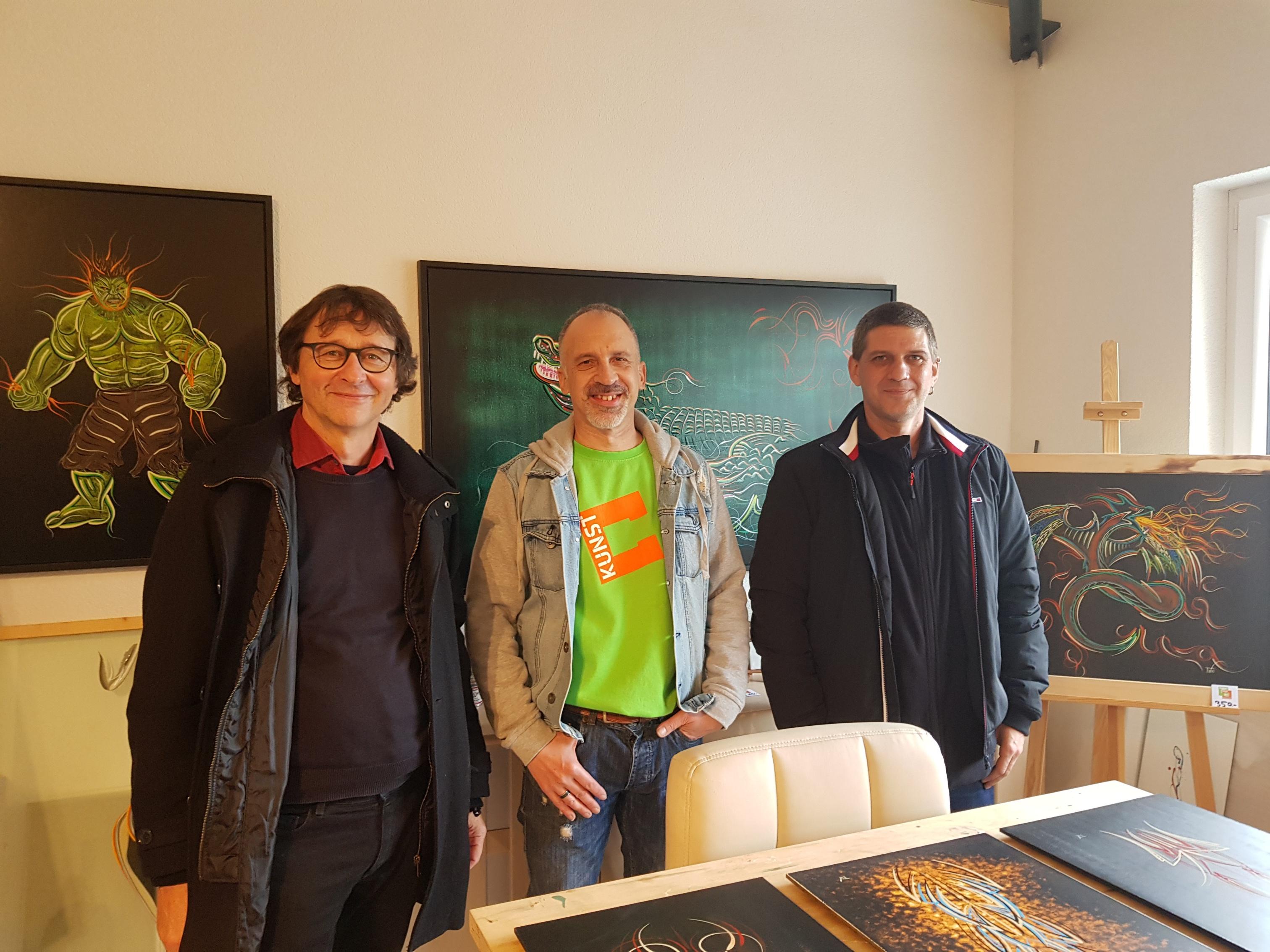 Benno, Thomas & Christoph