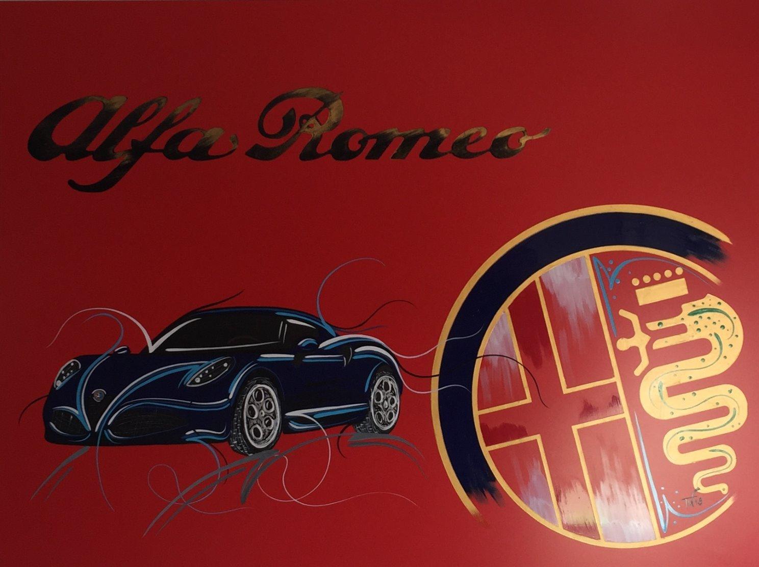 Alfa C4 blau