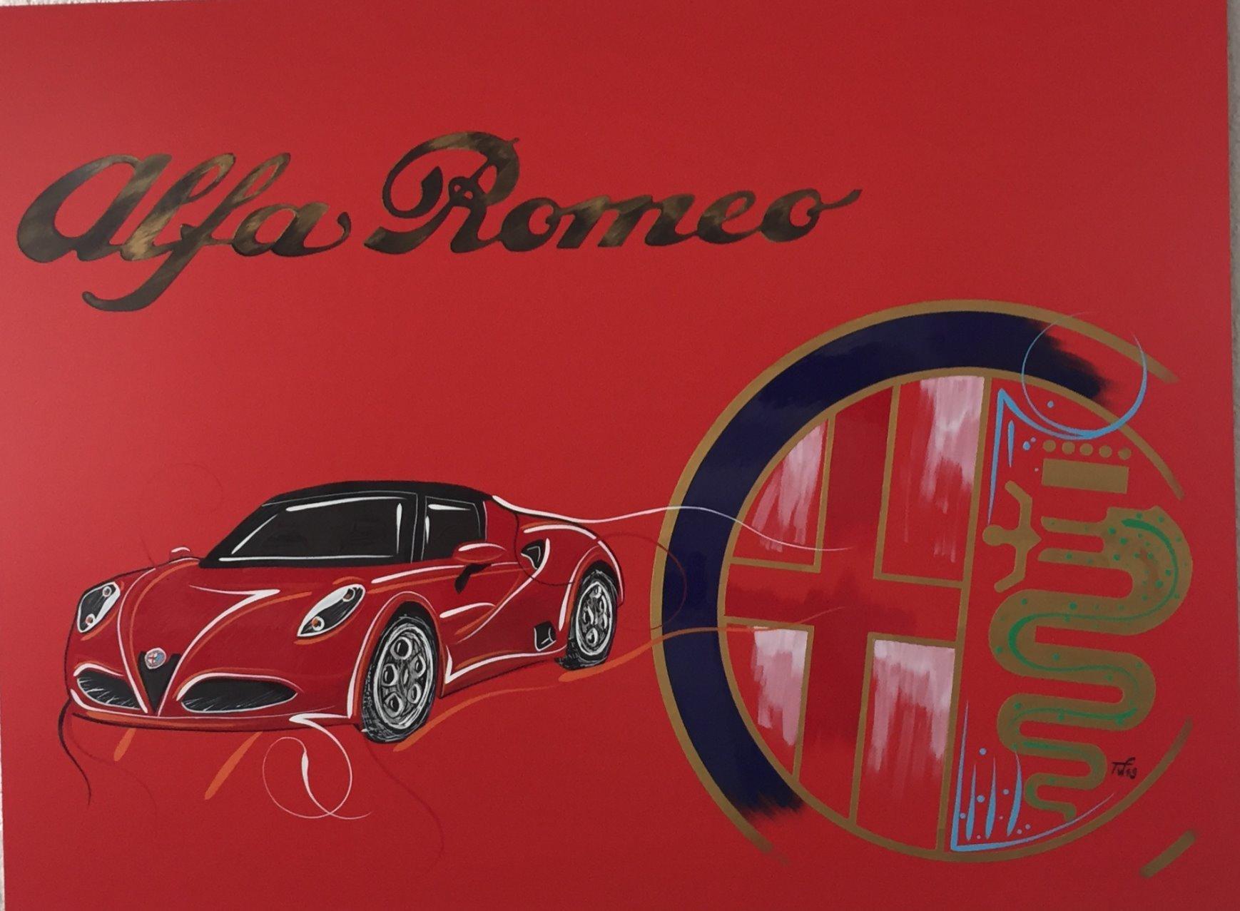Alfa C4 rot