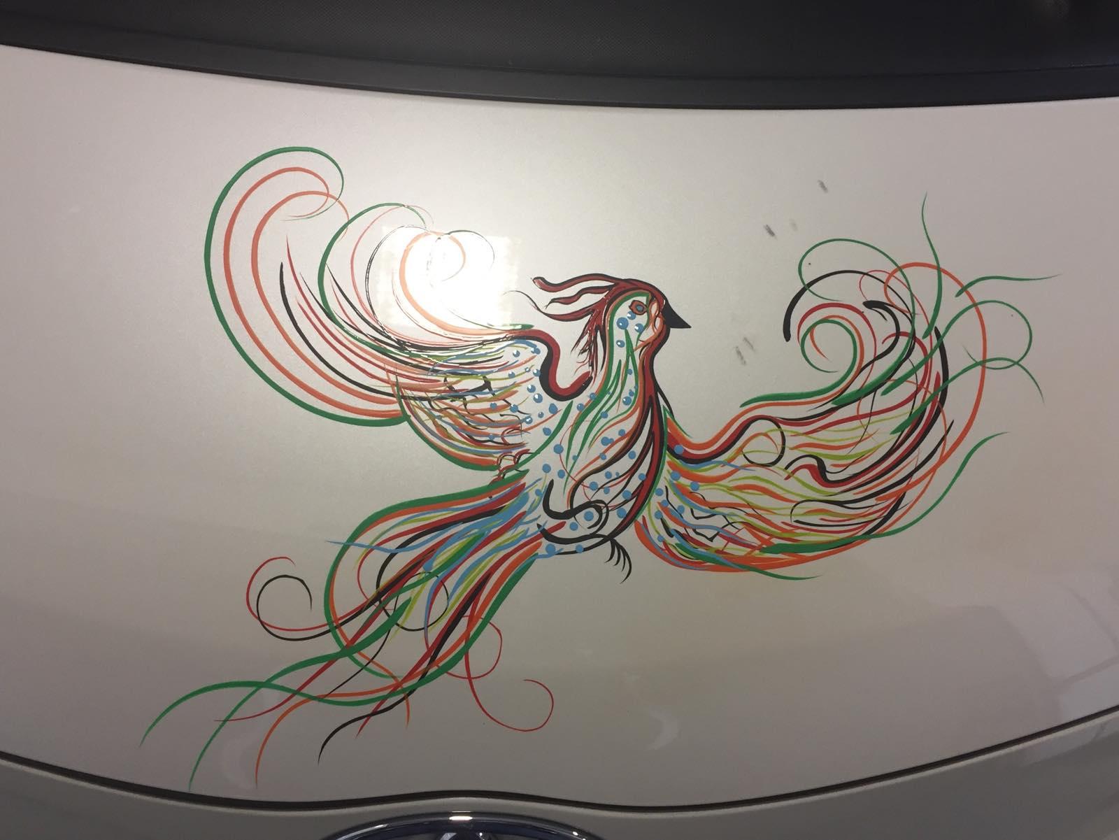 Fantasie Vogel