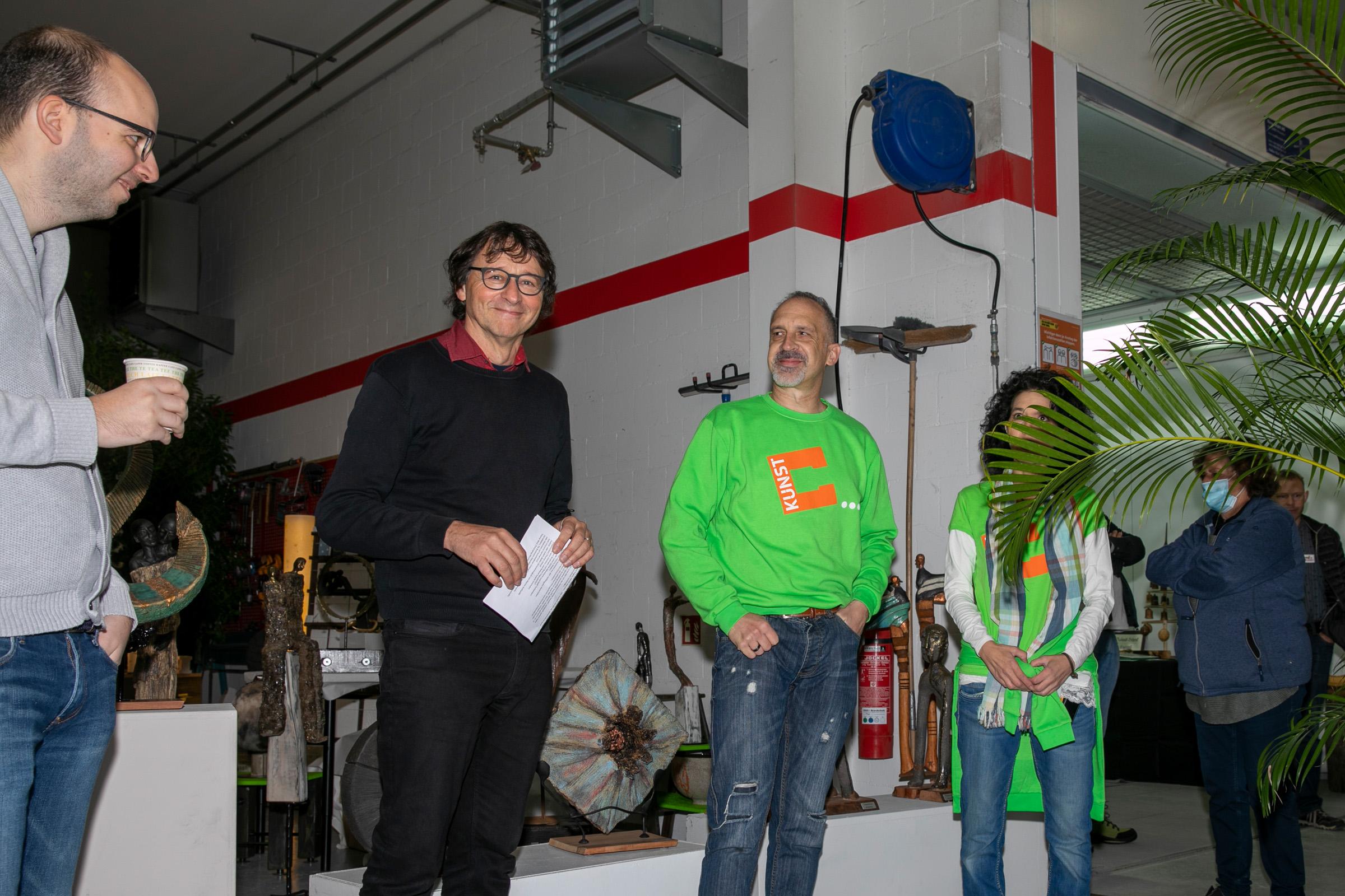 Laudatio / Eröffnung Schätzli 2020