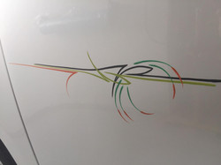 Pinstrip Detail