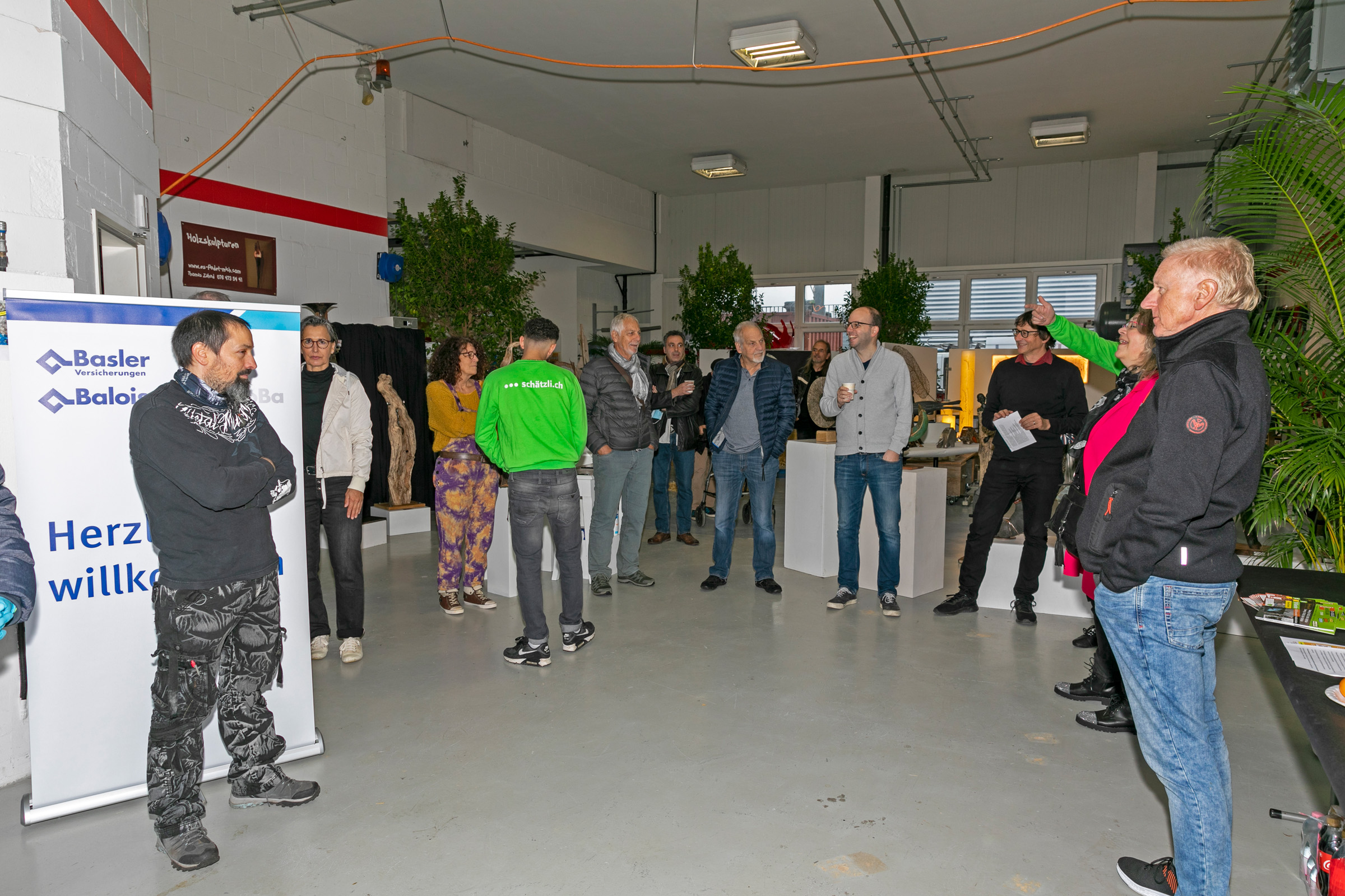 Eröffnung Kunstausstellung Schätzli 2020
