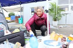 Marion 3D-Strassenmalerin in Aktion