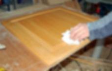 patrick working cabinet refinish prep 00
