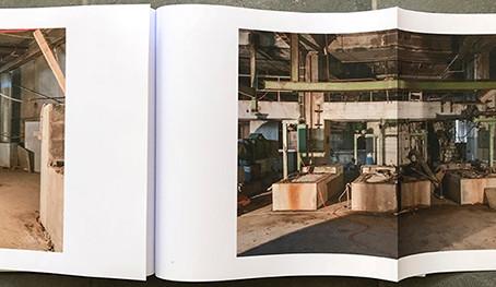 """Erneuter Projektbeitrag für das Künstlerbuch """"Eine Papierfabrik im Verschwinden"""" von Irène Hänni"""