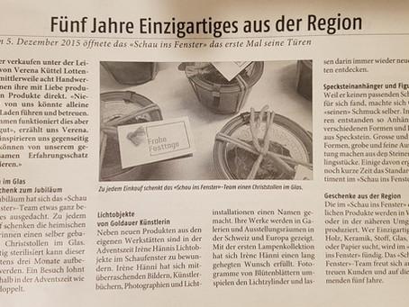 Weggiser Wochenzeitung vom 4.12.2020