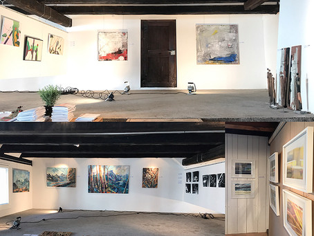 Natur Meer In Form: Kunstausstellung im Atelier R6, Räbengasse 6, Steinen, Schwyz