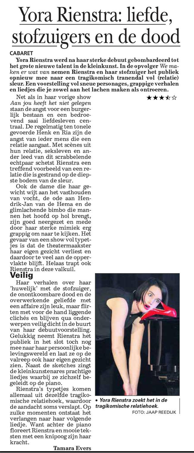 Telegraaf 2013