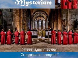 Missa in Mysterium, zo 12 mei 2019 Leeuwarden. Meezingen met een Gregoriaanse Hoogmis.