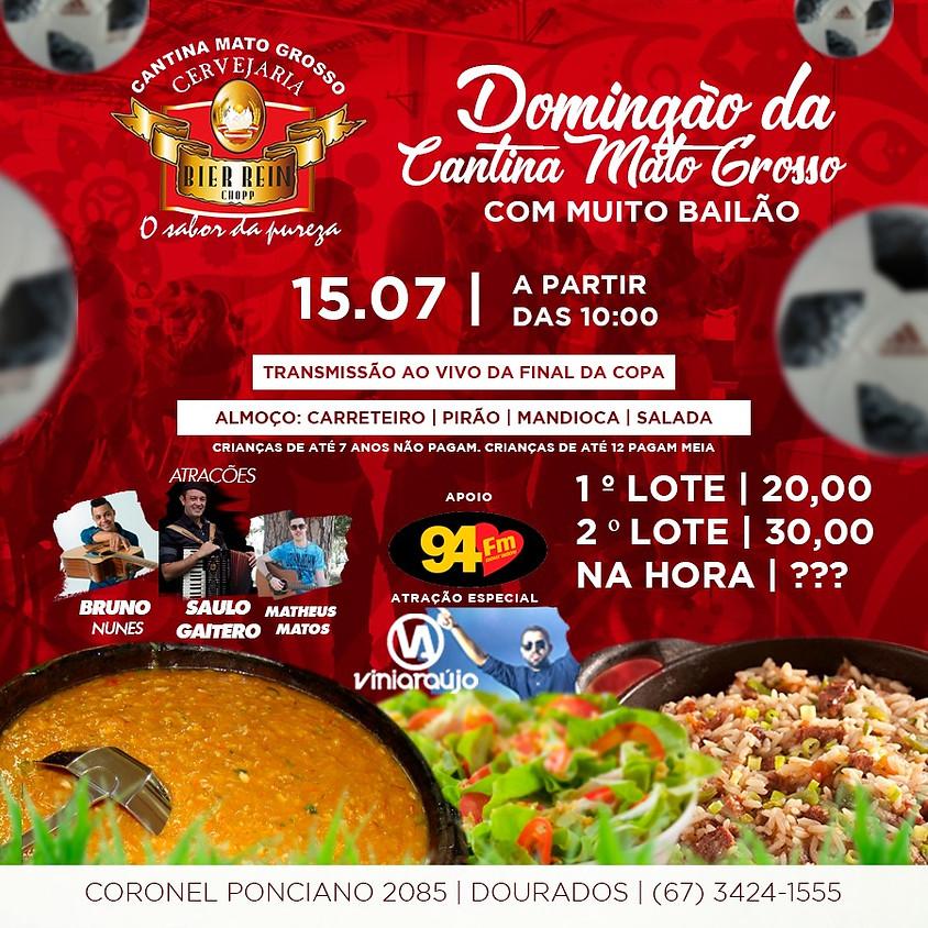 Domingão da Cantina Mato Grosso