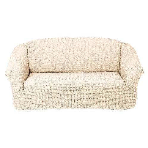 На диван без оборки. Цвет: кремовый