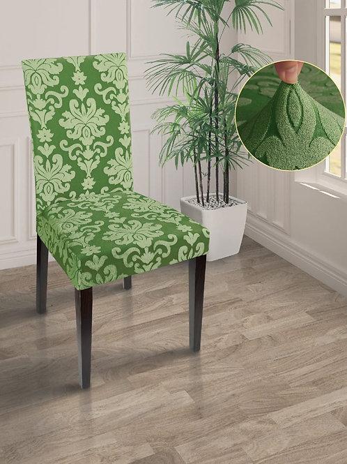 """Чехол на стул """"MARIANNA"""". Цвет: зелёный"""