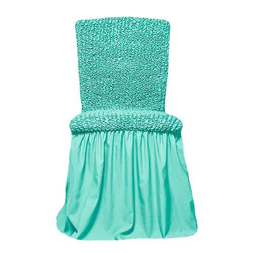 Комплект чехлов на стулья. Цвет: мятный