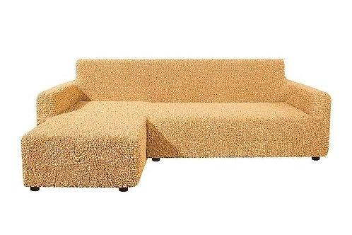 На диван с оттоманкой. Цвет: медовый.