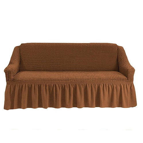 На 4-х местный диван. Цвет: светло-коричневый