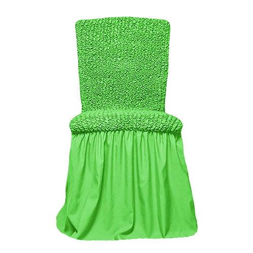 Комплект чехлов на стулья. Цвет: салатовый