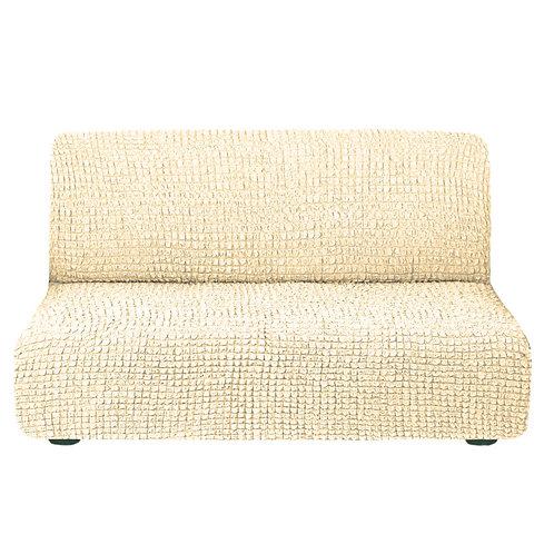 На диван без подлокотников. Цвет: кремовый