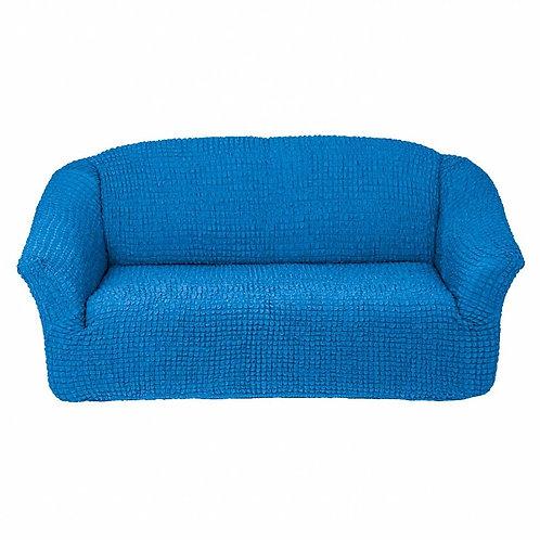 На диван без оборки. Цвет: синий
