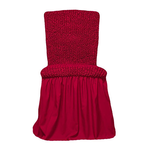 Комплект чехлов на стулья. Цвет: бордовый