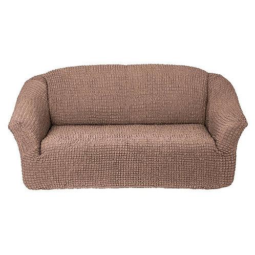 На диван без оборки. Цвет: капучино