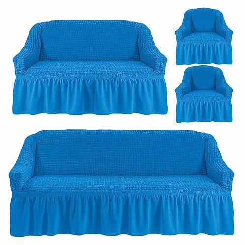 Комплект чехлов 3+2+1+1. Цвет: синий