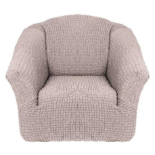 На кресло без оборки. Цвет: натуральный