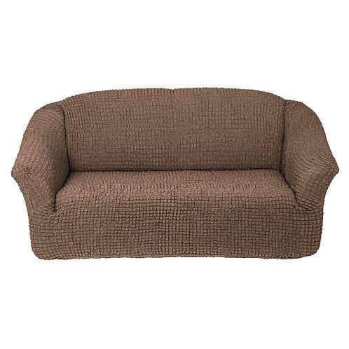 На диван без оборки. Цвет: серо-коричневый