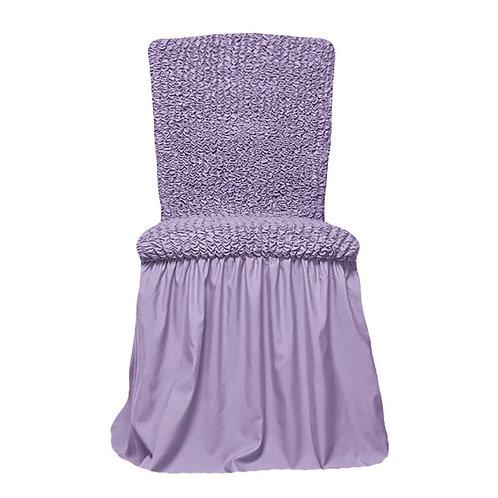 Комплект чехлов на стулья. Цвет: лиловый