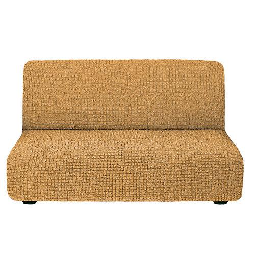 На диван без подлокотников. Цвет: горчичный