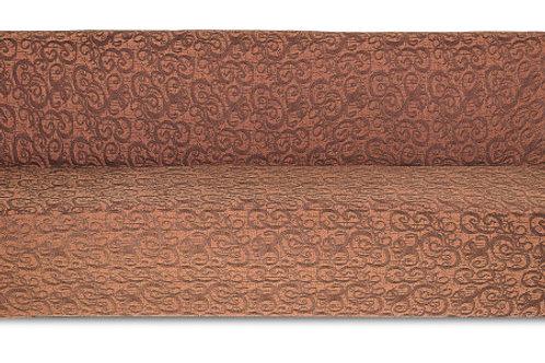 На диван без подлокотников жаккард. Цвет: шоколад