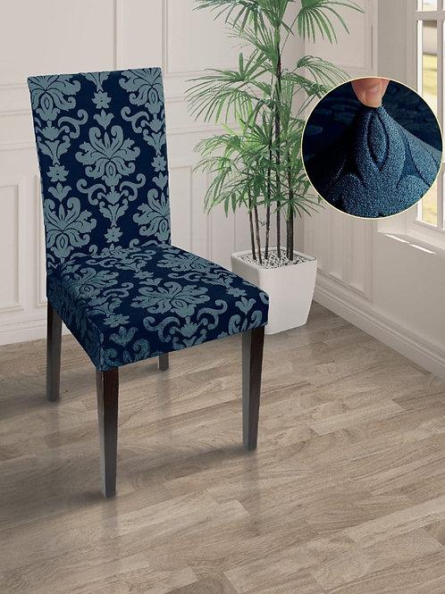 "Чехол на стул ""MARIANNA"". Цвет: синий"