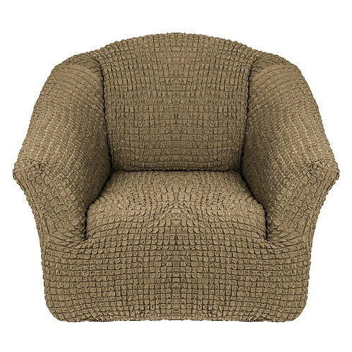 На кресло без оборки. Цвет: хаки