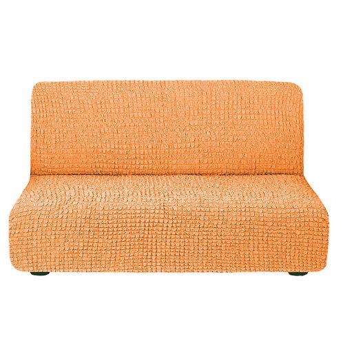 На диван без подлокотников. Цвет: оранжевый