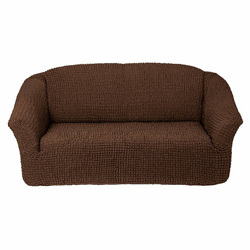 На диван без оборки. Цвет: шоколад