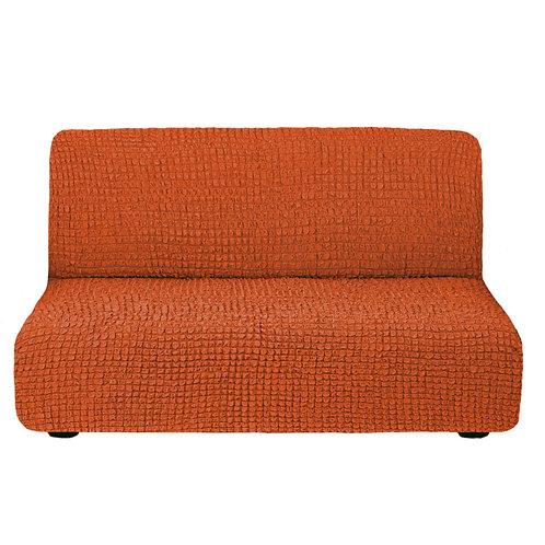 На диван без подлокотников. Цвет: терракот