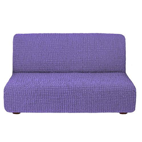 На диван без подлокотников. Цвет: лиловый