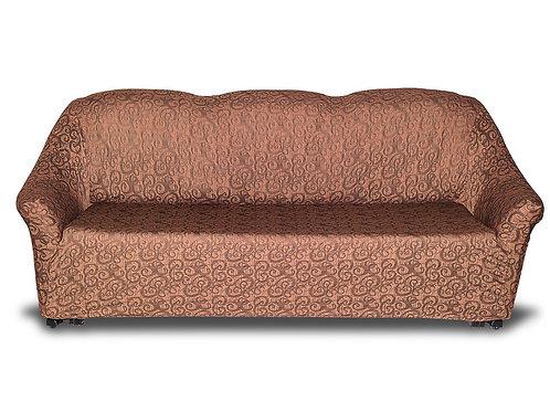 """На диван """"KARTEKS"""" без оборки. Цвет: коричневый"""