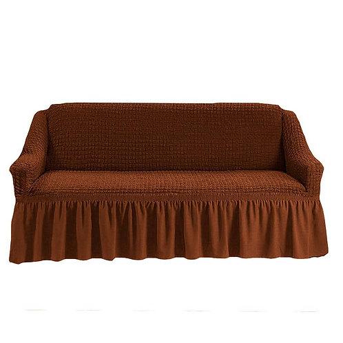 На 2-х местный диван. Цвет: коричневый