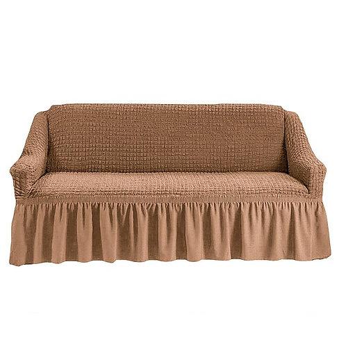На 4-х местный диван. Цвет: песочный