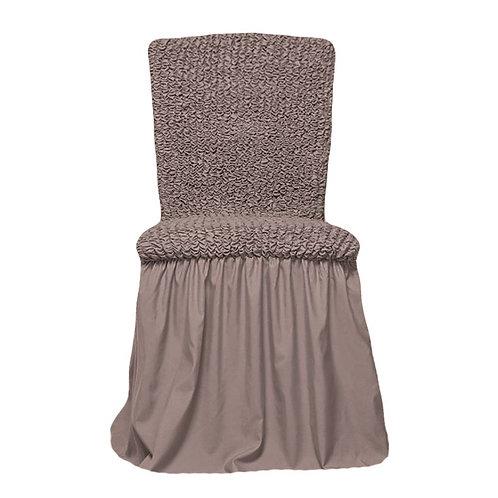 Комплект чехлов на стулья. Цвет: какао