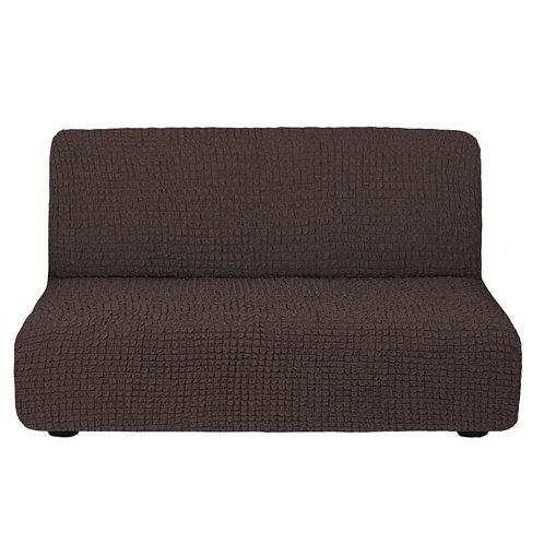 На диван без подлокотников. Цвет: шоколад