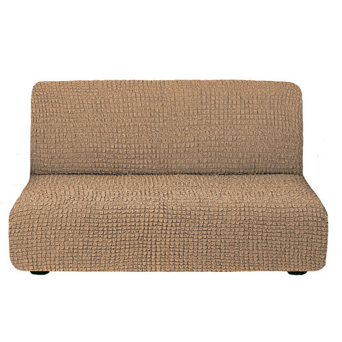 На диван без подлокотников. Цвет: капучино