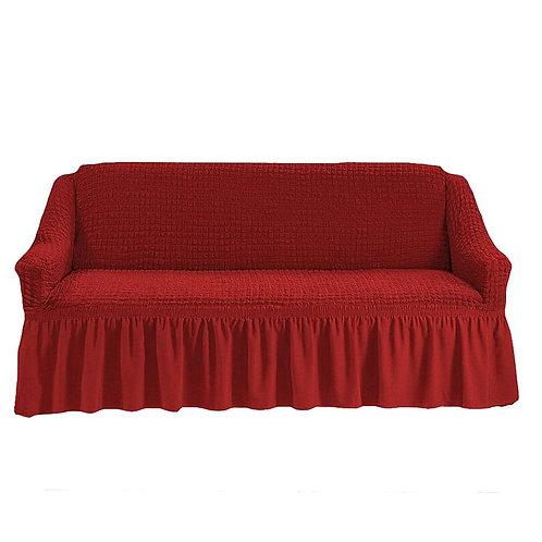 На 4-х местный диван. Цвет: терракотовый