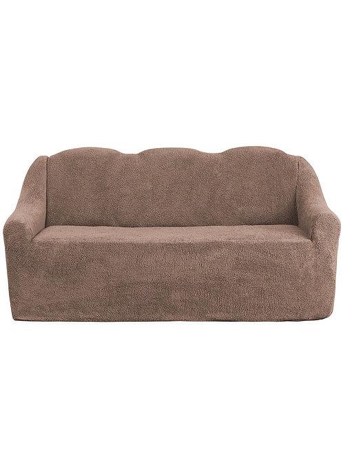 """На диван """"Плюш"""" без оборки. Цвет: капучино"""
