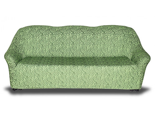 """На диван """"KARTEKS"""" без оборки. Цвет: зелёный"""